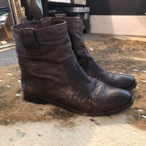 Frye 'Anna' shortie pull on boot